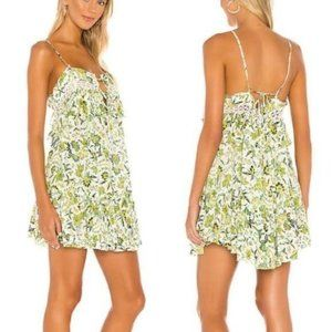 Free People Take Me With You Ruffle Floral Dress